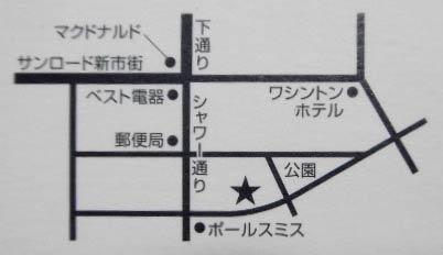 ショコラ 地図