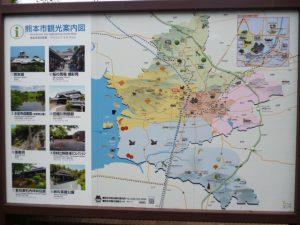 熊本市観光案内図