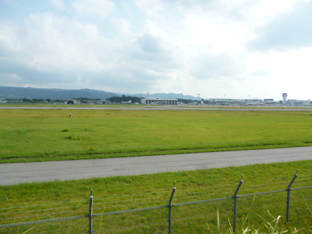 熊本空港裏
