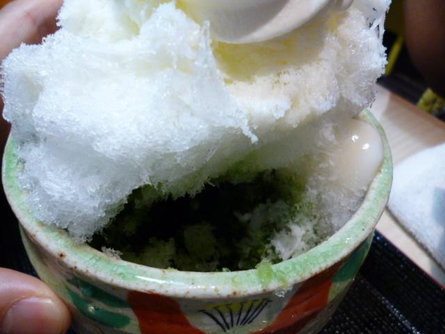 茶以香カキ氷
