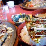 お好み焼き定食ランチ¥750食べました☆ 『味のシマダ』