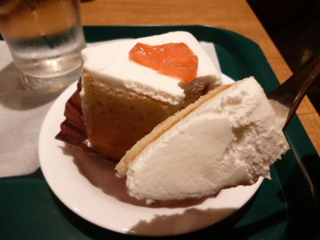 りんごとキャラメルのシフォンケーキ