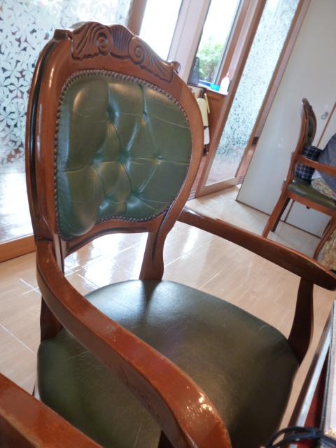 店内の様子 椅子