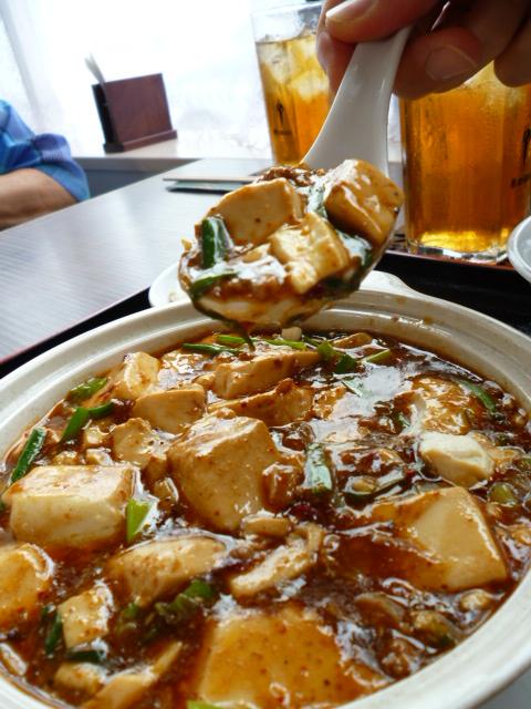 ランチ 麻婆豆腐