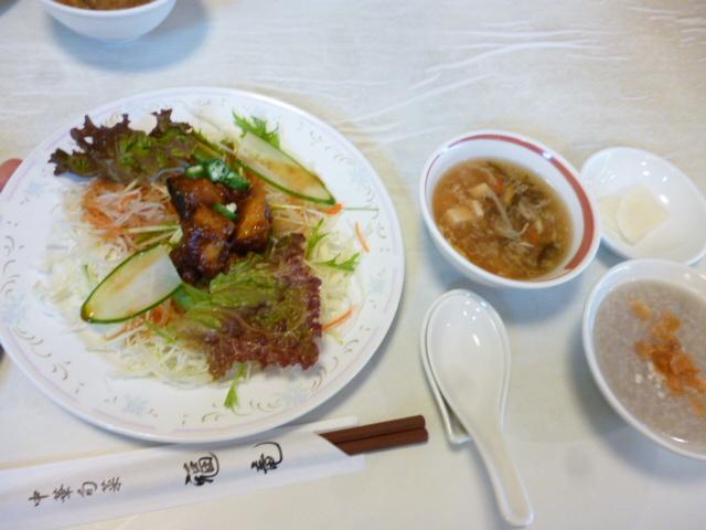 サラダ おかゆ スープ