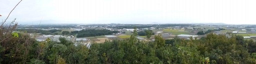 展望所からの眺め