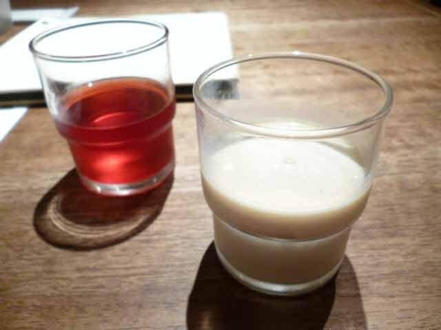 ジュース・豆乳