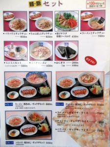 麺・飯セット
