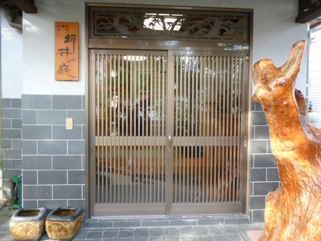 坪井庭 入り口