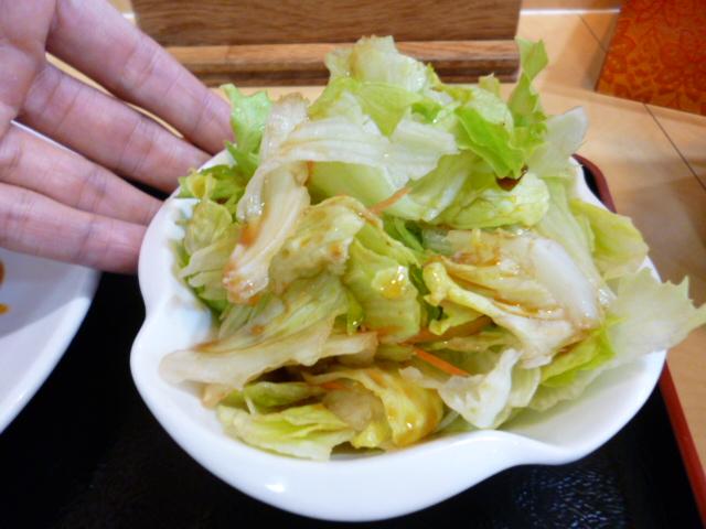 日替わりランチ サラダ