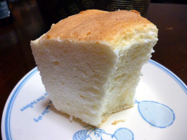 卵白シフォンケーキ