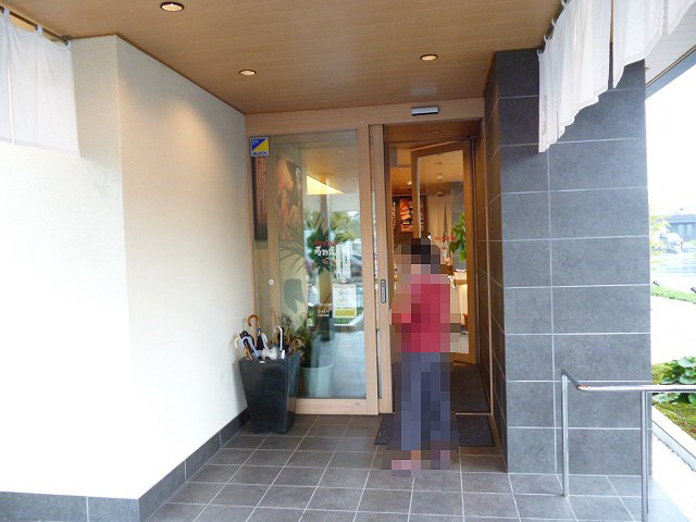 虎寿司 入り口