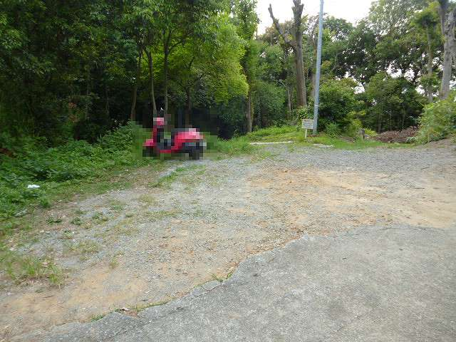 神園山の駐車場