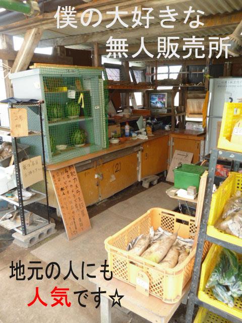 弁天山野菜直売所
