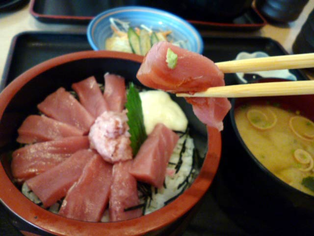 天空マグロちらし寿司