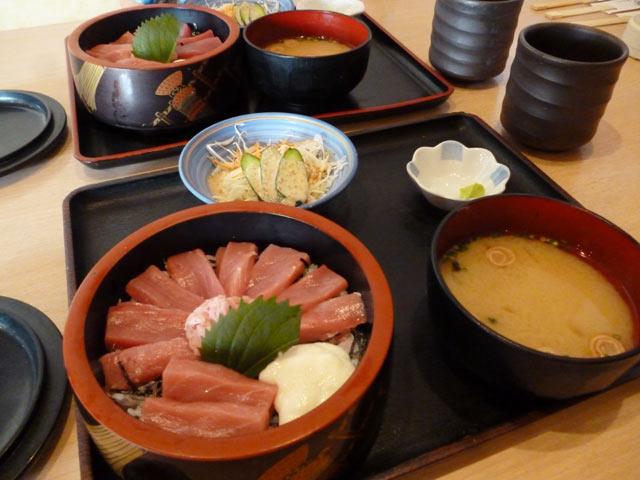 天空まぐろちらし寿司