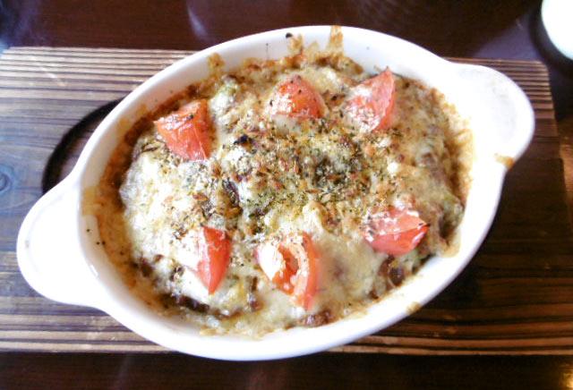 イビザ風キーマ焼きカレー