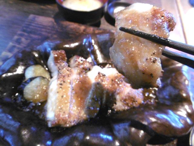遊び豚の陶板焼き