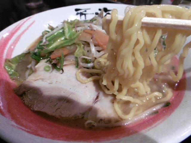ちぢれ細麺
