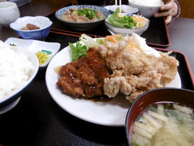 からとん定食 ¥700