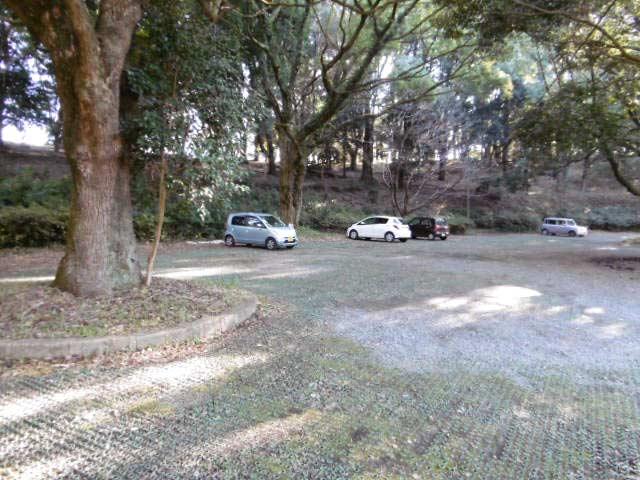 立田山自然公園 駐車場