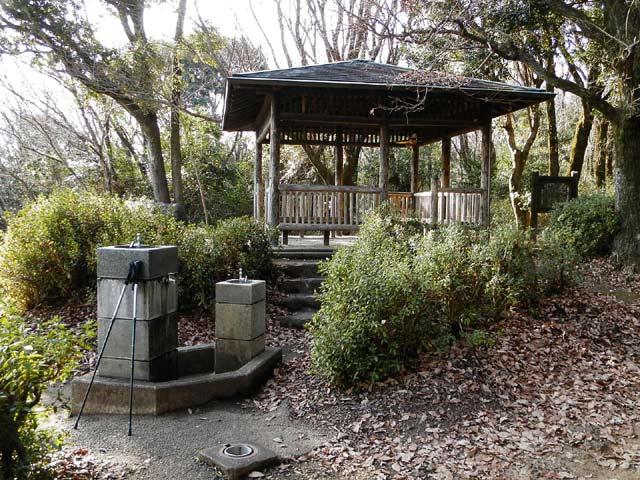 立田山自然公園 休憩