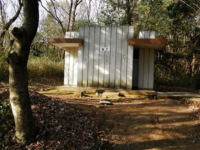 立田山自然公園 トイレ