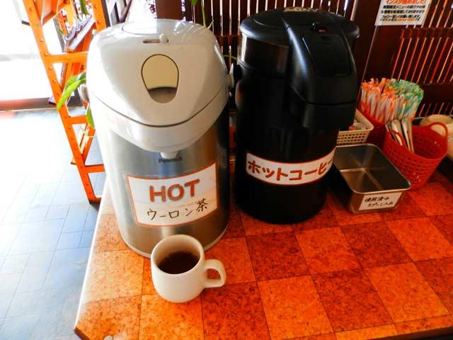 カレーハウス 印度亭 コーヒー&ウーロン茶