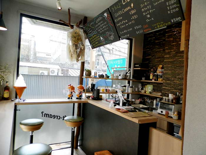 libcafe リブカフェ 店内