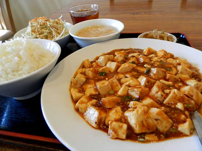 栄達 マーボー豆腐